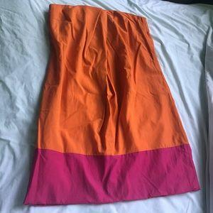 Trina Turk size 2 SO CUTE mini dress strapless